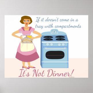 A Frozen Dinner Means Supper Poster