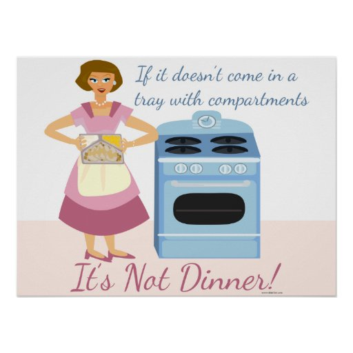 A Frozen Dinner Means Supper Poster
