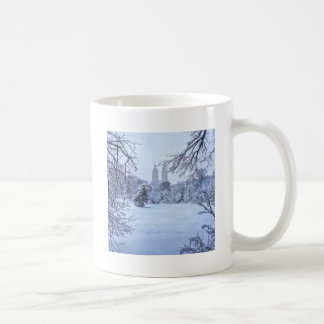 A Frozen Pond In Central Park Coffee Mug