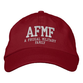 A Frugal Ball Cap! Embroidered Hat
