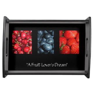 A Fruit Lover's Dream Serving Platters