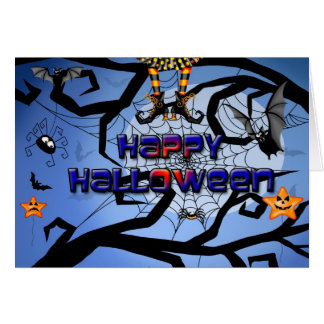 A Fun Happy Halloween card