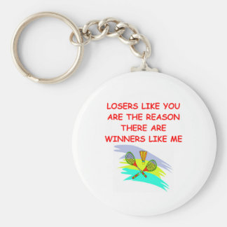 a funny winners and losers joke key chains