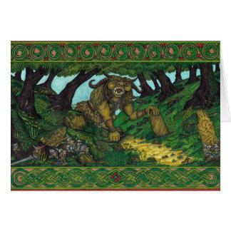 A Gaggle of Goblins, Card