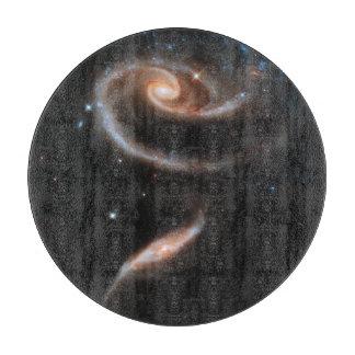A Galactic Rose Cutting Board