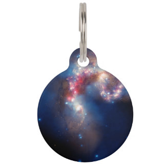 A Galactic Spectacle Pet Name Tag