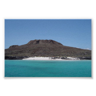 A Galapagos Island Poster