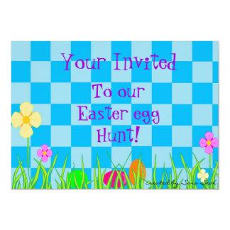 A Garden Egg Hunt Card