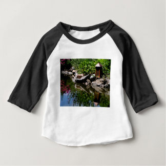A Garden Pond in Summer Baby T-Shirt