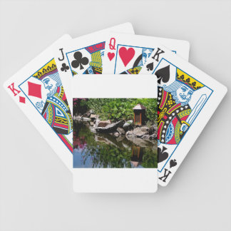 A Garden Pond in Summer Bicycle Playing Cards