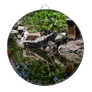 A Garden Pond in Summer Dartboard
