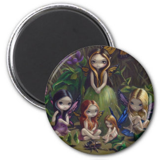 """""""A Gathering of Faeries"""" Magnet"""