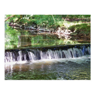 A Gentle River Waterfall Postcards