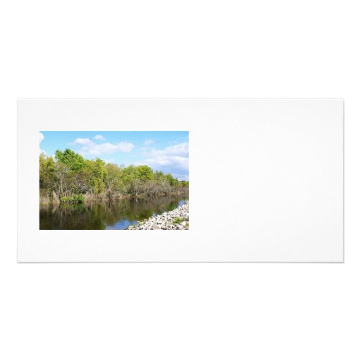 A Gentle    Stream Photo Greeting Card
