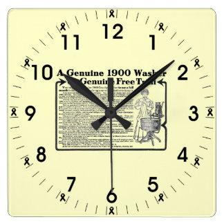A Genuine 1900 Washer Wall Clock