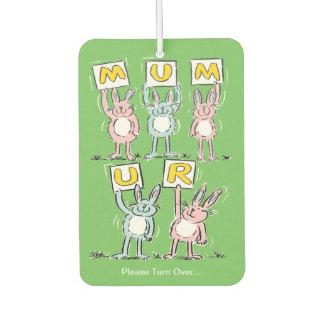 A Gift for Mum. Mum is Fab! Car Air Freshener