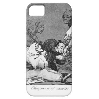 A Gift for the Master by Francisco Goya iPhone 5 Case