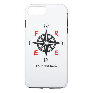 A gift for those who are Wild And Free iPhone 7 Plus Case