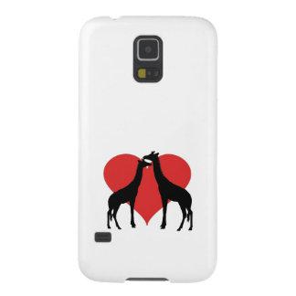A Giraffe couple Cases For Galaxy S5