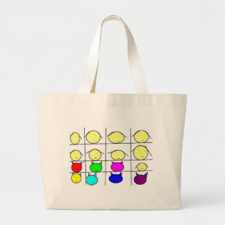 A girl for each good looking one large tote bag