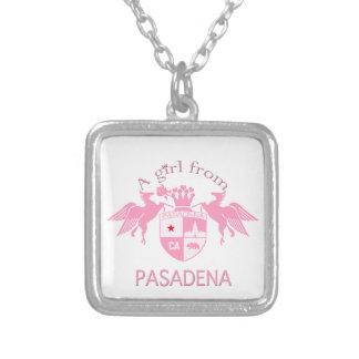 A Girl From PASADENA Logo Emblem Necklace