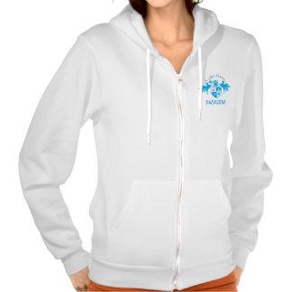 A Girl From PASADENA Logo Emblem Hoodies