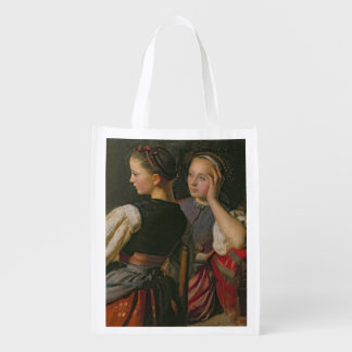 A Girl from Probsteier, 1844 Reusable Grocery Bags