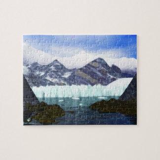 A Glacier Meets the Sea Jigsaw Puzzle