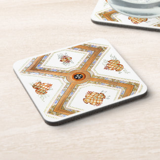 A Glass Ceiling Coaster