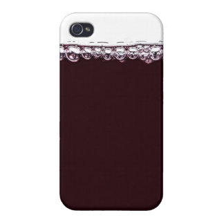 A Glass of Red Wine Case For The iPhone 4