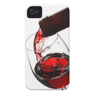 A Glass of Red Wine Case-Mate iPhone 4 Cases