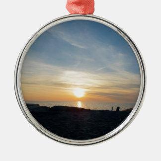 A Glimpse of Heaven Silver-Colored Round Decoration