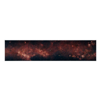 A GLIMPSE of the Milky Way Poster
