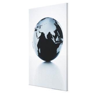 A globe 2 canvas print