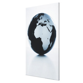 A globe gallery wrap canvas
