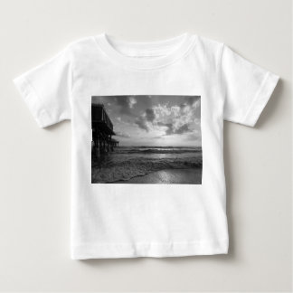 A Glorious Beach Morning Grayscale Baby T-Shirt