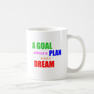 A goal without a plan is just a dream Coffee Mug