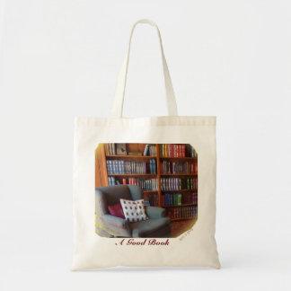 A Good Book  - on a Bag