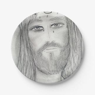 A Good Jesus Paper Plate