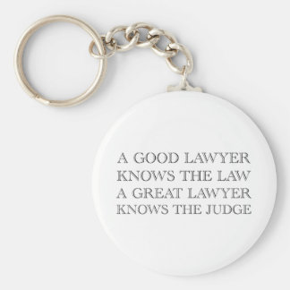 A Good Lawyer Key Chains