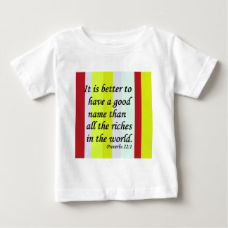 A Good Name Baby T-Shirt