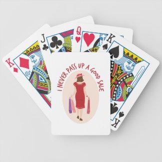 A Good Sale Poker Deck