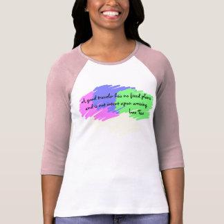 A good traveler tshirt