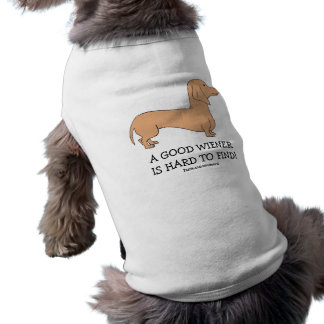 A Good Wiener is Hard to Find Doggie Tank Top Sleeveless Dog Shirt