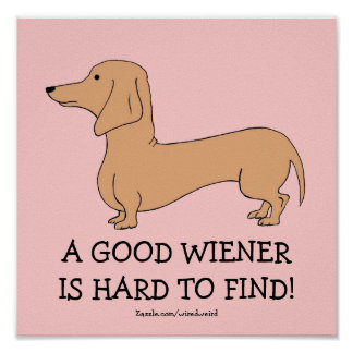 A Good Wiener is Hard to Find Poster
