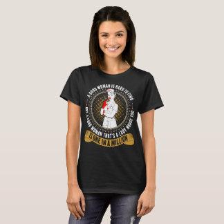 A Good Woman Is Hard To Find Lady Nurse Tshirt