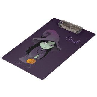 A Goth Witch Clipboard
