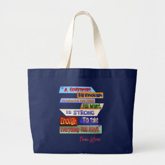 A Government Big Enough Bag