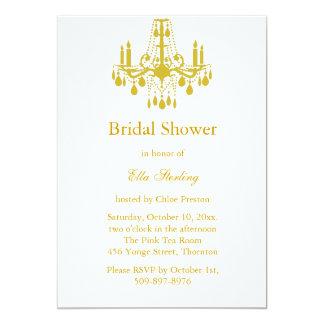 A Grand Ballroom Bridal Shower Invitation