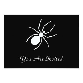 "A Graphic of a Spider 5"" X 7"" Invitation Card"